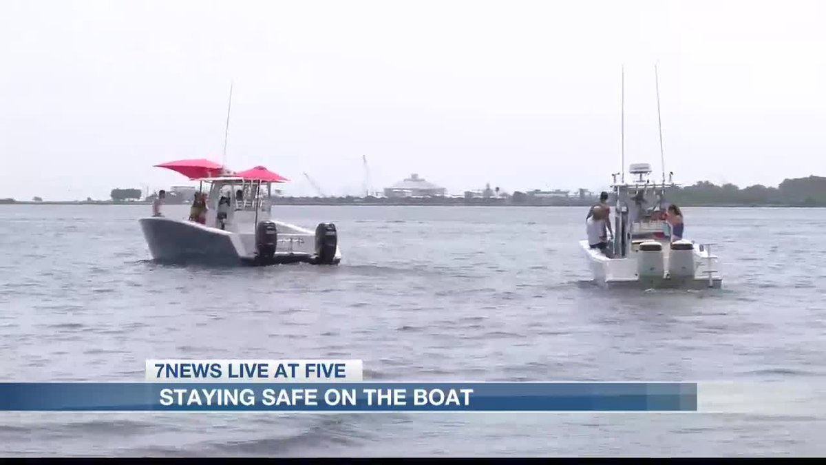 LDWF urging residents to remain safe on boats.