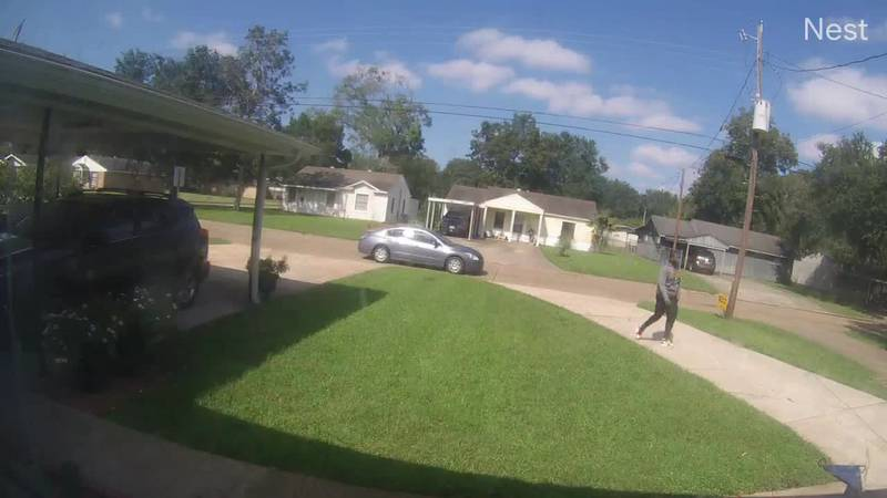 Lake Charles police have released video of a suspect - and a suspect vehicle - accused of...