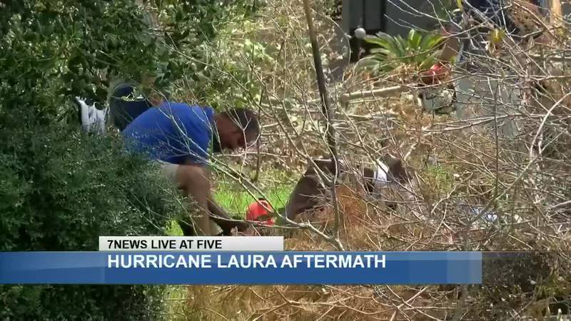 Sulphur residents who rode out the storm, speak on the damage