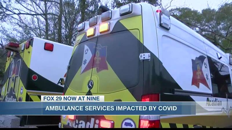 Ambulance services busier than normal as COVID-19 cases increase