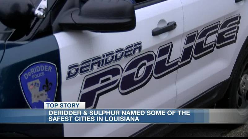 Sulphur and DeRidder are two of the safest cities in Louisiana