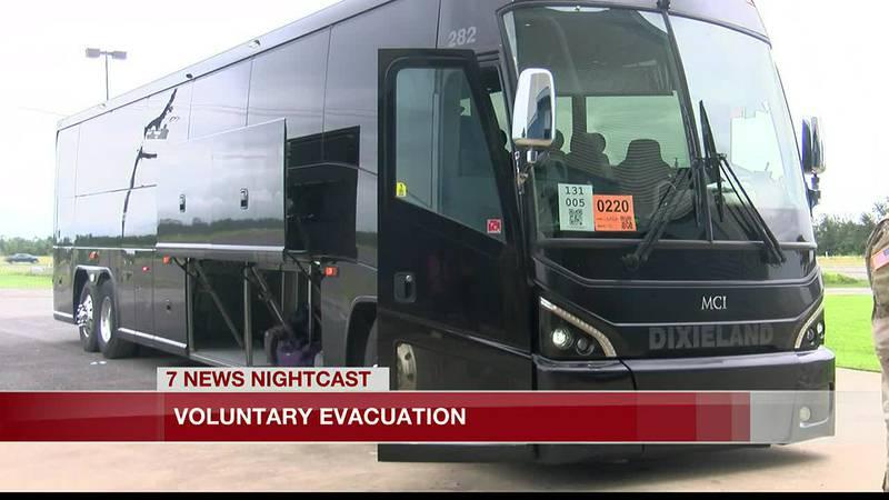 Voluntary Evacuation from Burton Coliseum