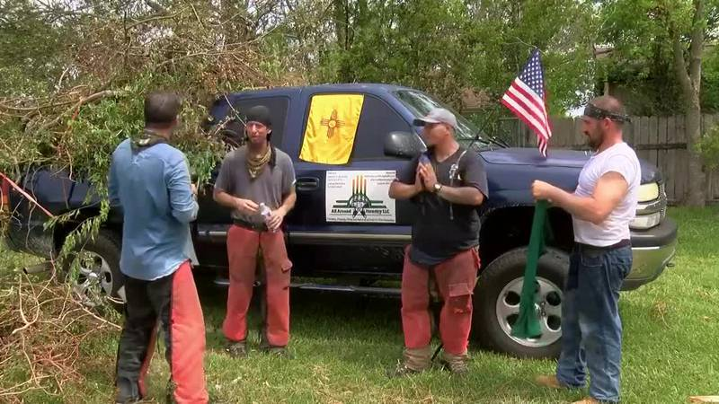 Former inmates from from Albuquerque, New Mexico, are bringing their forestry company to SWLA...