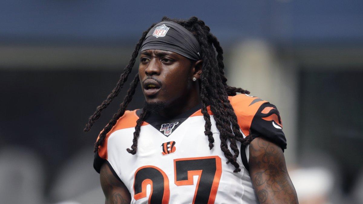 FILE - In this Sept. 8, 2019, file photo, Cincinnati Bengals cornerback Dre Kirkpatrick stands...