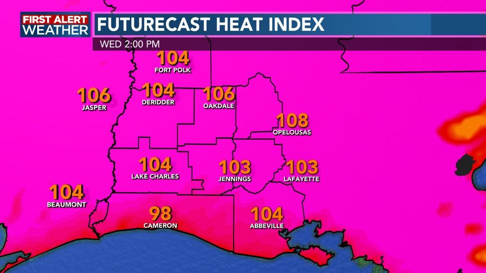 Afternoon Heat Index