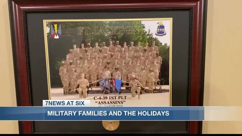 A tale of three families: holidays for military families