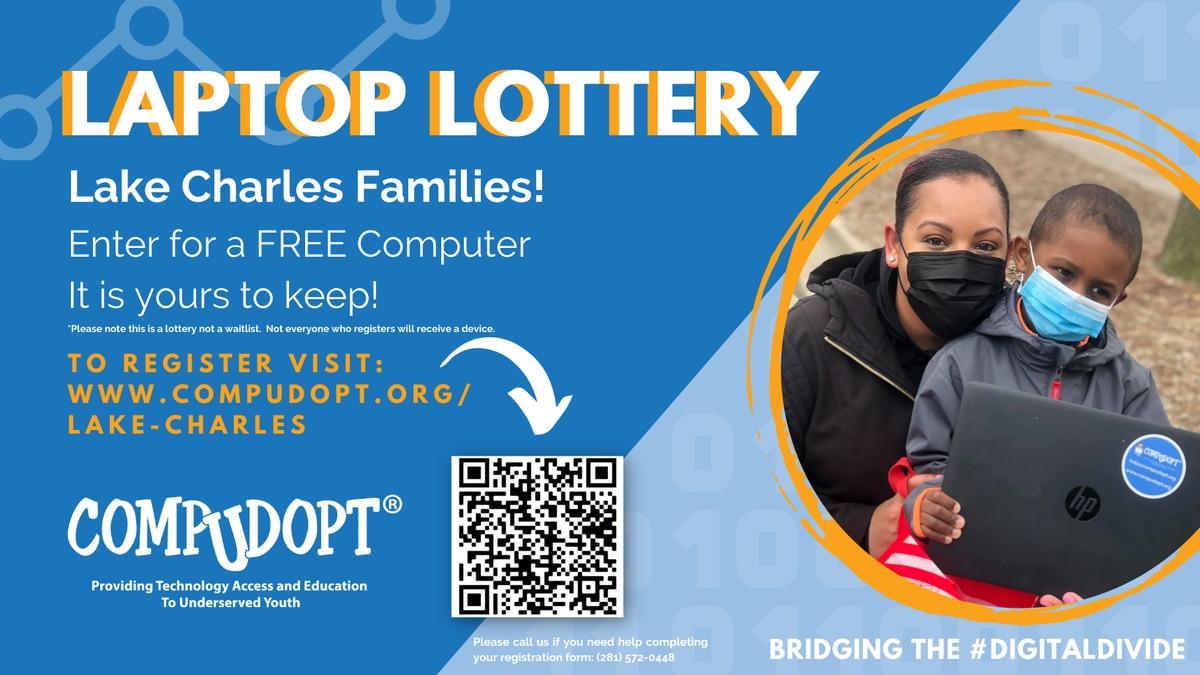 Comp-U-Dopt laptop lottery