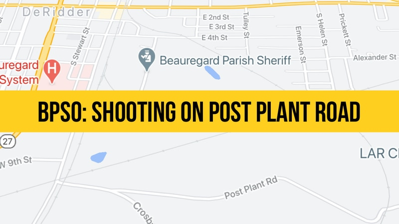 The Beauregard Sheriff's Office is working a shooting on Post Plant Road, according to Sheriff...