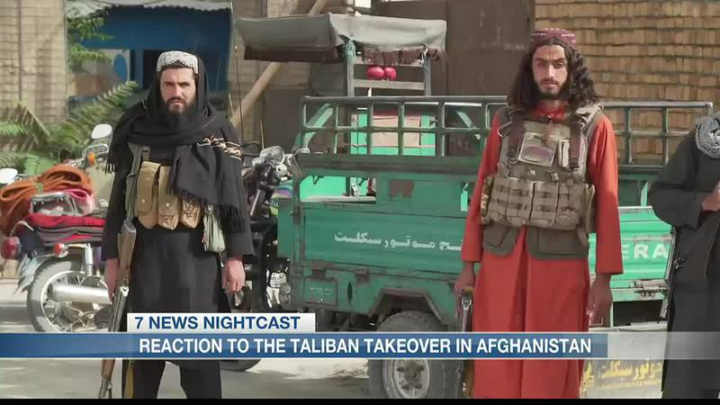 Reaction to the Taliban takeover in Afghanistan