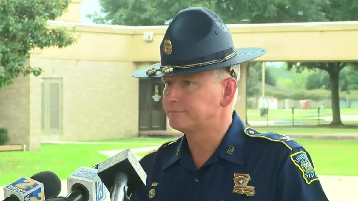 LSP Col. Kevin Reeves apologized to cadets and their families on Tuesday after several cadets...