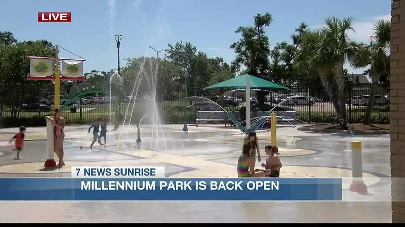 Millennium Park has officially reopened