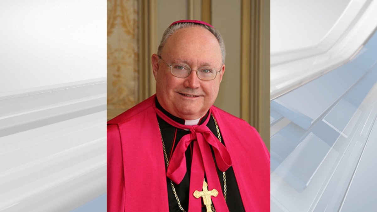 Bishop Glen Provost, head of the Diocese of Lake Charles.