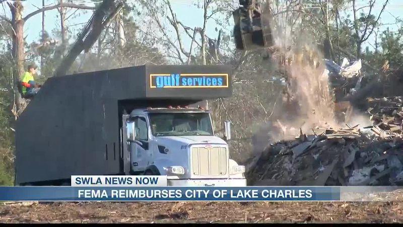 FEMA to reimburse City of Lake Charles $46.5 million.