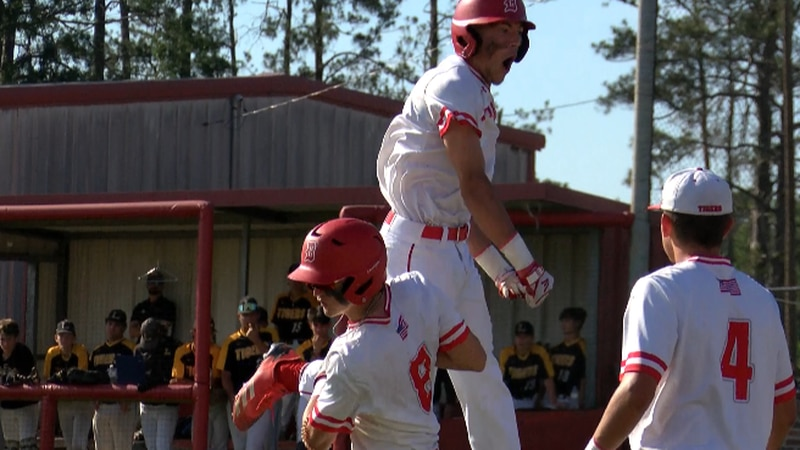 No.4 DeQuincy wins game one over No. 5 Loreauville, 12-6