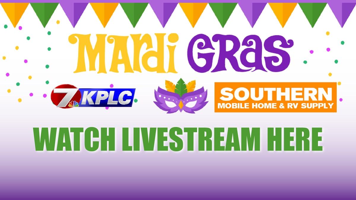 Watch the SWLA Mardi Gras parades here.