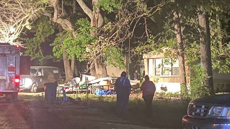A 48-year-old Shreveport man was killed when a tree fell on his mobile home in the 8900 block...