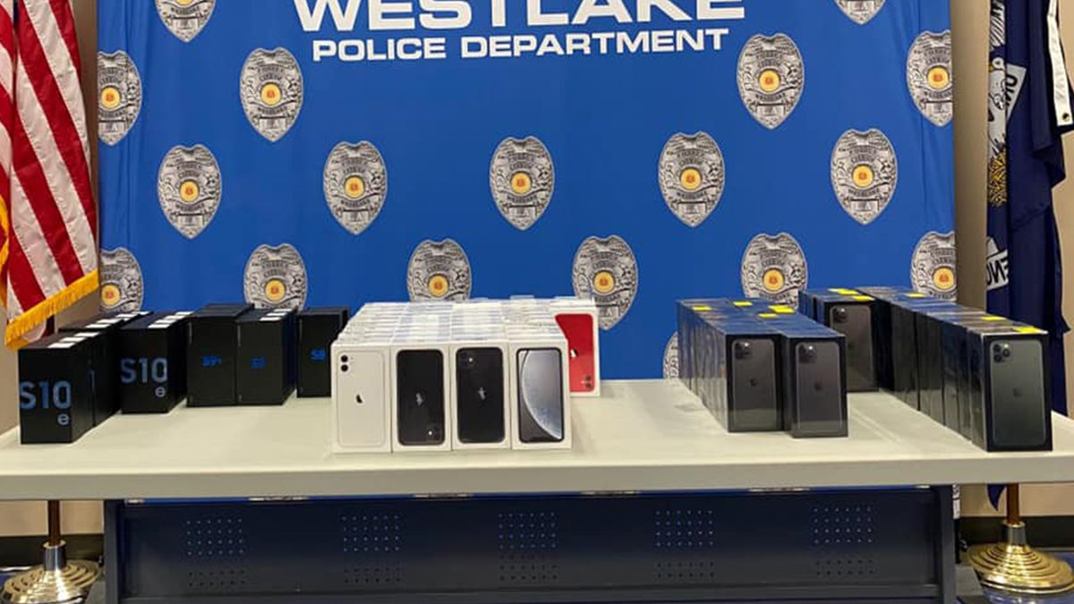 Around 80 cell phones taken during a burglary of a Best Buy in Morrow, Georgia, have been...
