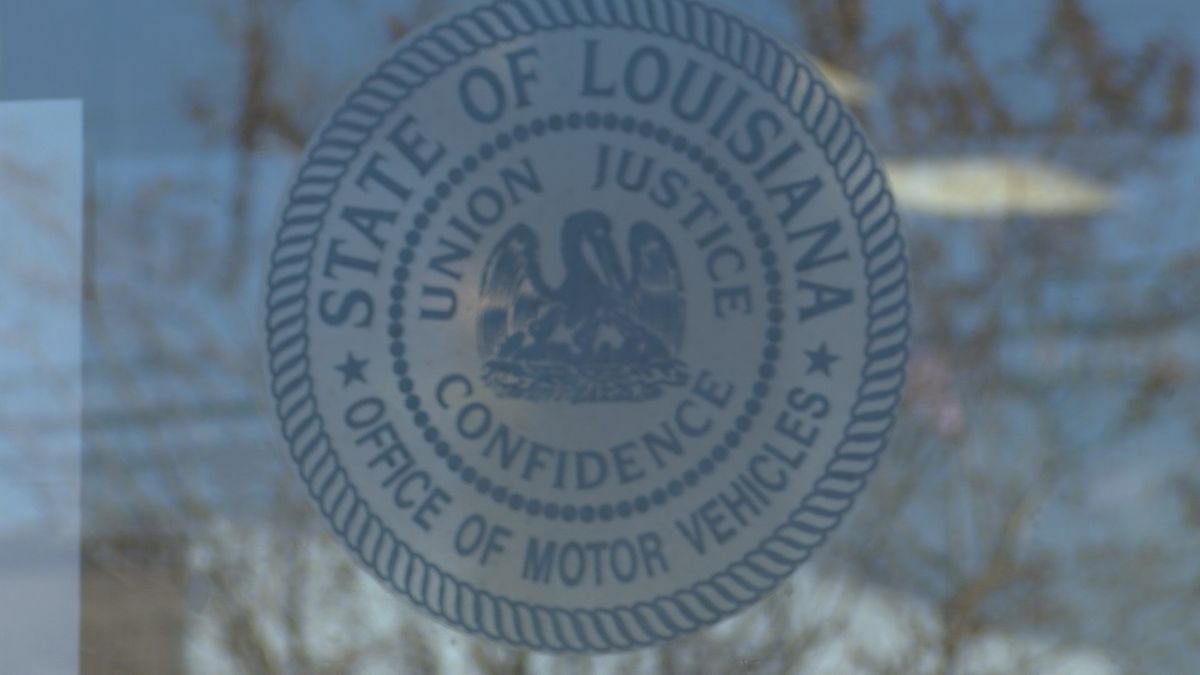 The Louisiana OMV says they don't ask customers to provide sensitive personal data through text...