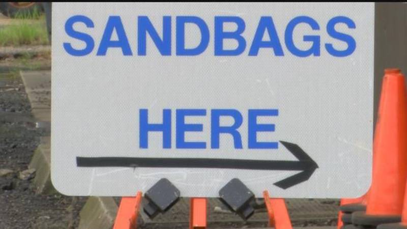 The police jury says while the sand and bags are provided, residents must bring their own...