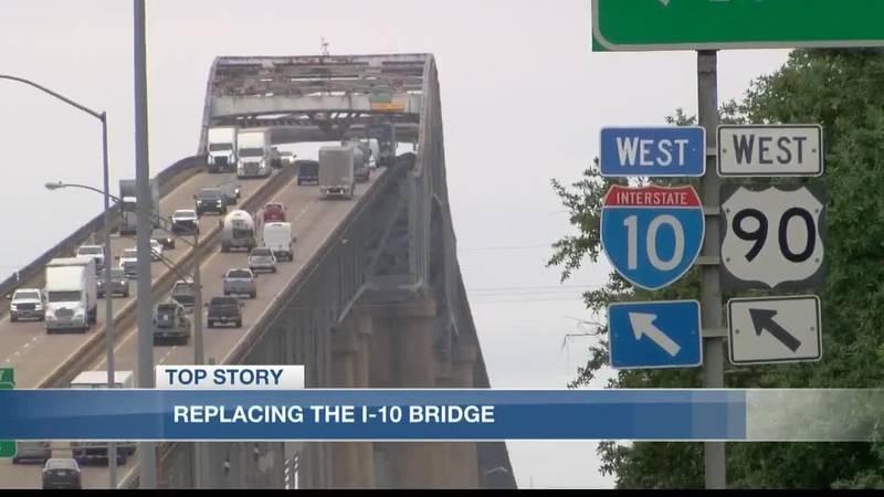 Amendments made to proposal of new I-10 bridge