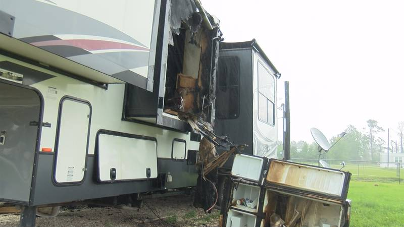 With so many people living in campers and RVs following last year's hurricanes, Houston River...