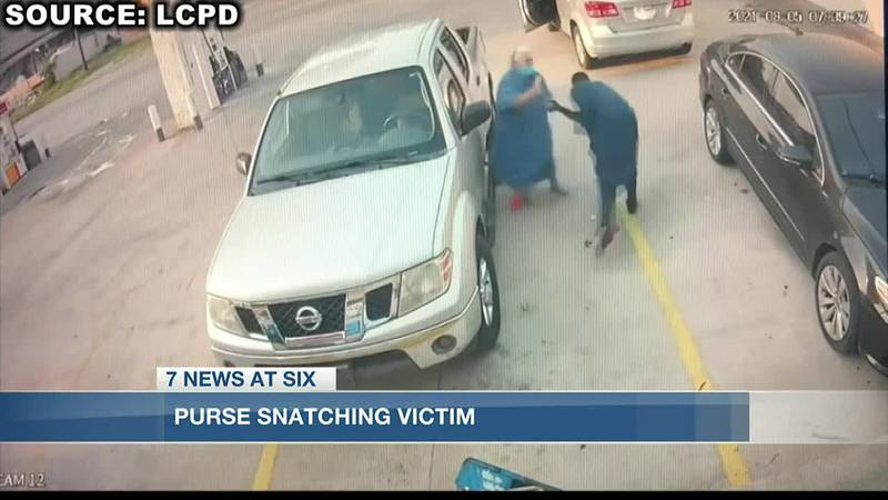 Purse snatching victim speaks out