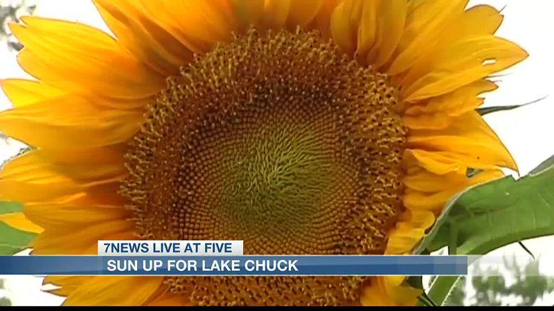 Sun up for Lake Chuck returns.