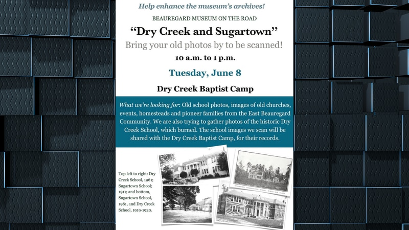Items scanned on June 8 will be shared with the Dry Creek Baptist Camp to boost the camp's...