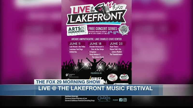 Tonight, from 6 p.m. to 10 p.m., you'll be able to hear music from Infinite Bus, Louisiana Yard...