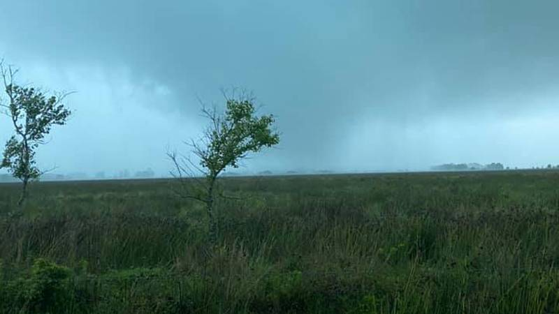 The National Weather Service has confirmed a tornado touched down between Iowa and Lacassine...