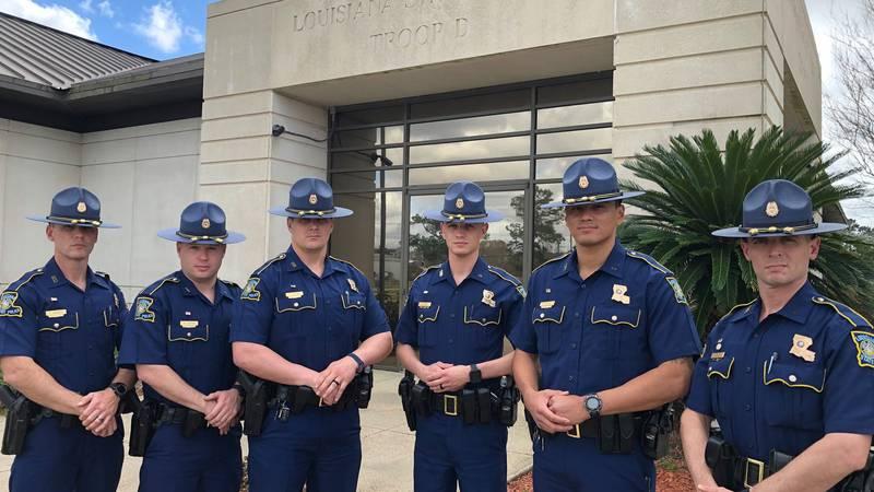 6 Cadets join Troop D