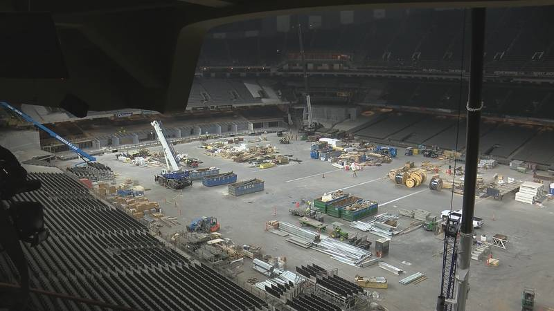 Superdome renovations