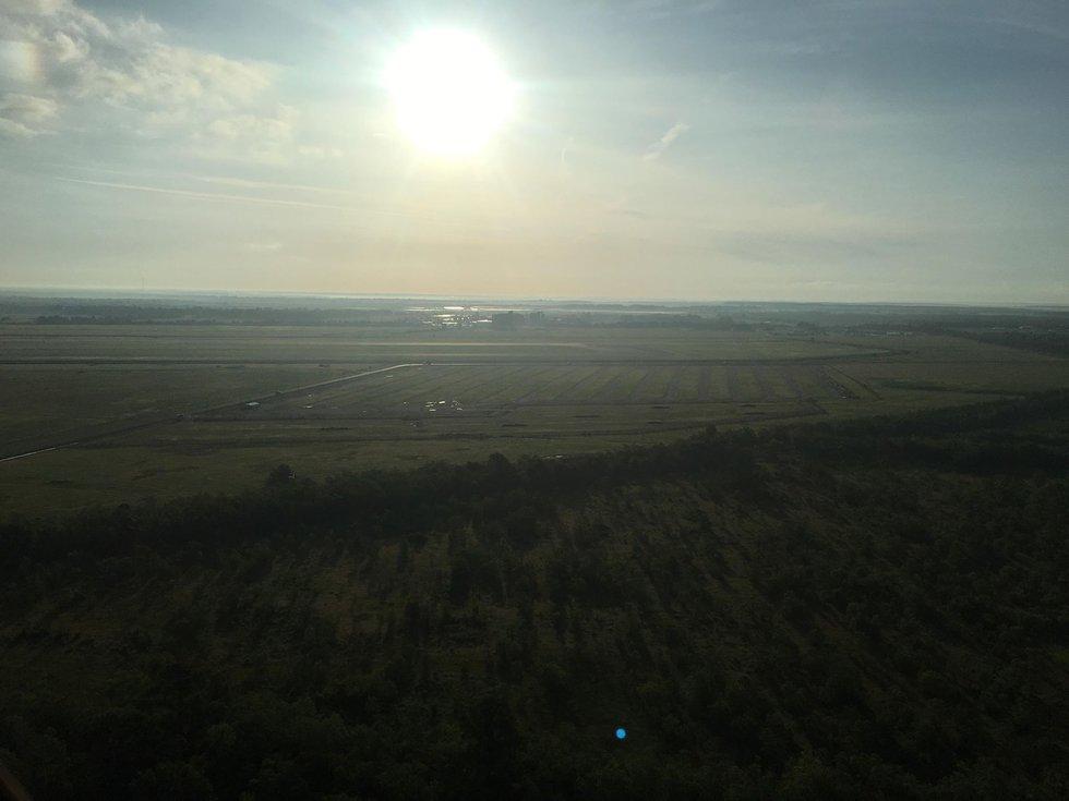 Friday morning hot air balloon ride (Source: William Davidson)