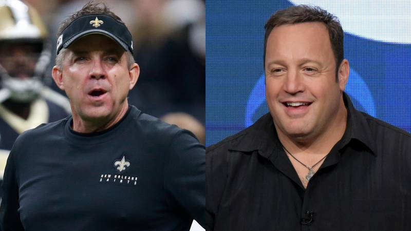 Sean Payton will be played by Kevin James in an upcoming Netflix movie. No, serioiusly.