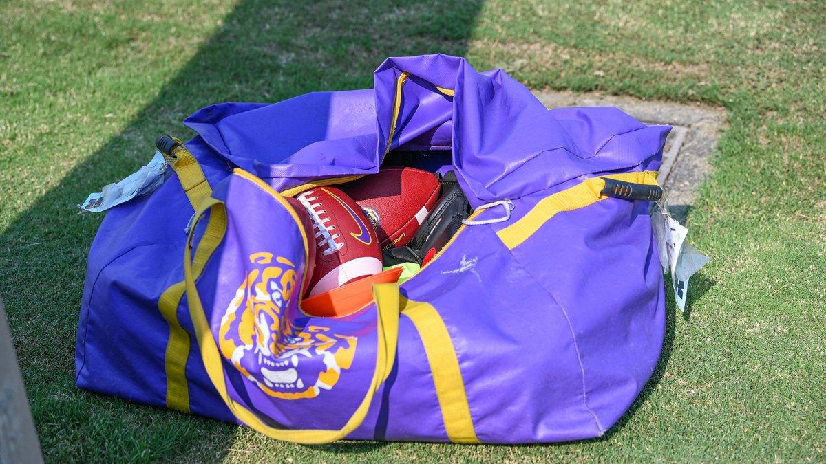 LSU Football Practice