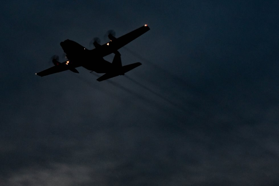 In this file photo, a U.S. Air Force C-130 Hercules assigned to the 757th Airlift Squadron...