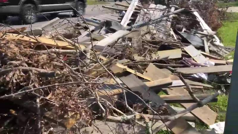 City of Lake Charles works to clear debris ahead of Hurricane Delta