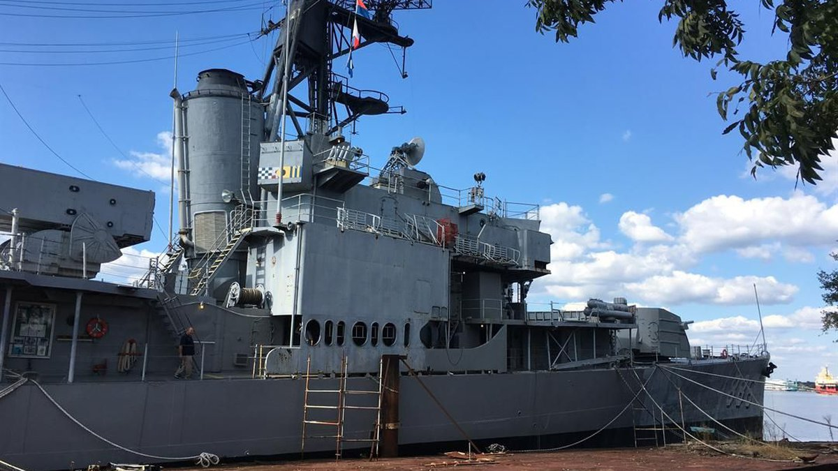 USS Orleck (Source: Jillian Corder/KPLC)