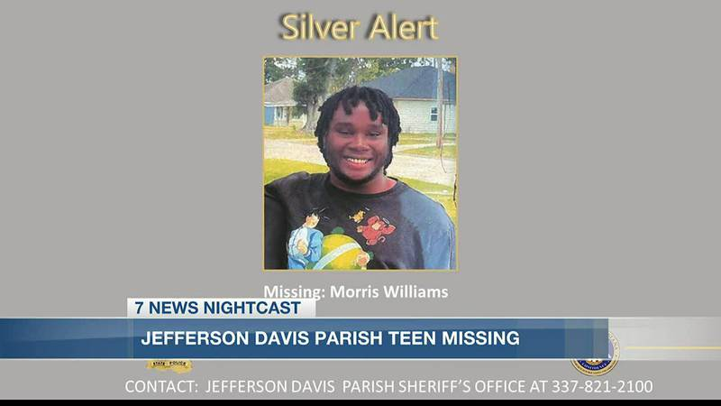 Police say 19-year-old Morris Williams was last seen around 4:30 a.m. Wednesday, June 30, when...