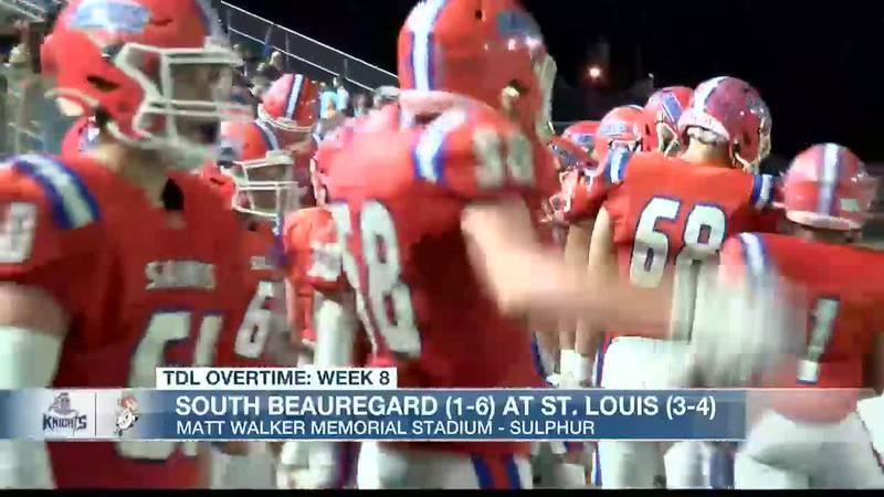 TDL WEEK 8: St. Louis 63, South Beauregard 21