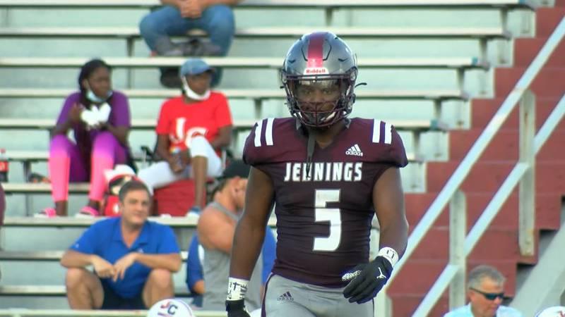 Jennings' Trevor Etienne