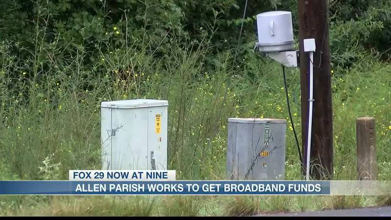 Allen Parish works to get broadband funds