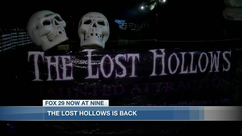 The Lost Hollows haunted trail is back