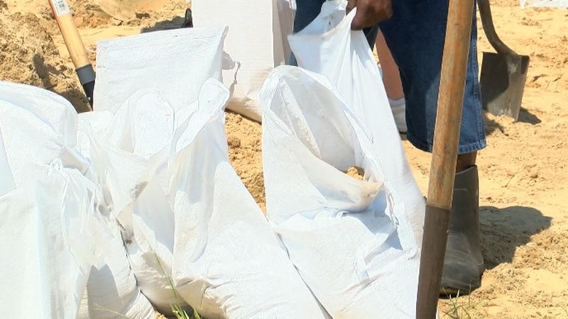 Sandbags getting filled in Calcasieu Parish ahead of Hurricane Barry