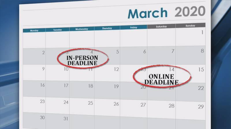 Louisiana deadlines to keep an eye on as presidential primary nears