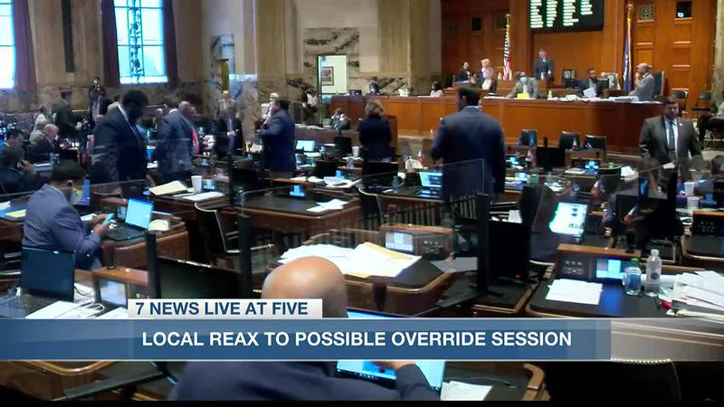 The Louisiana Legislature has only overturned two vetoes in modern history.