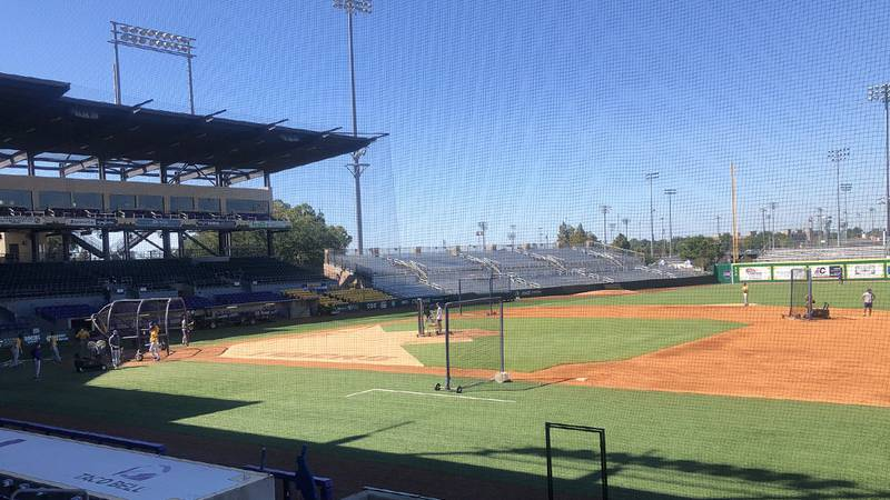 LSU has begun fall baseball practice.