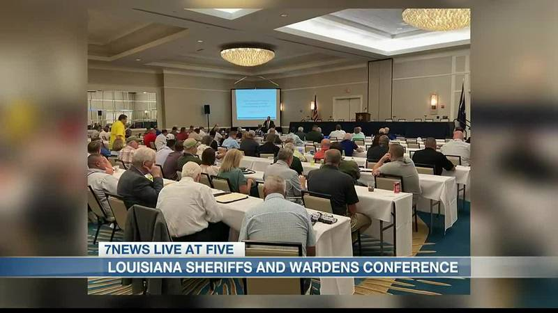 The 2021 Louisiana Sheriffs' and Wardens' Conference.