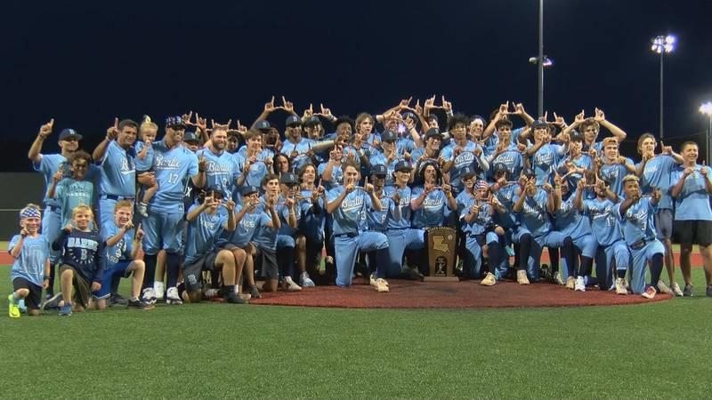 Barbe won the 2021 Class 5A Baseball State Title
