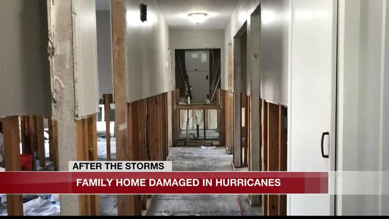 The Walker family rebuilt their home after Hurricane Harvey flooded it in 2017. Now they are...